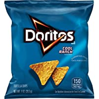 40-Pack Doritos Cool Ranch Flavored Tortilla Chips, 1 Ounce
