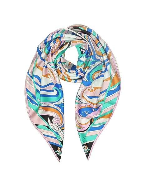 buy popular f1f4f 78d36 Emilio Pucci Foulard Donna 9Egb829eg824 Seta Multicolor ...