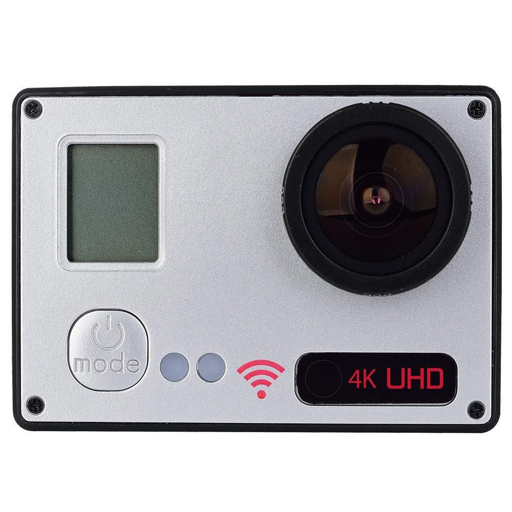 Ergou Action Kamera Dual Screen HD 4 Karat Im Freien Wasserdichte Sport Kamera Helm DV Reise Tragen Kamera Luftaufnahmen
