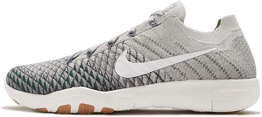 Amazon.com | Nike Womens Free TR Flyknit 2 Pale Grey/Light