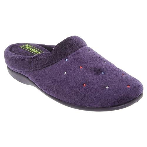 Zapatillas de estar por casa abiertas modelo Charley para mujer: Amazon.es: Zapatos y complementos