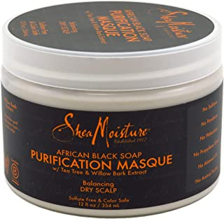 product image for Shea Moisture Soap 12 Ounce Jar African Black Purifying Masque (354ml) (2 Pack)