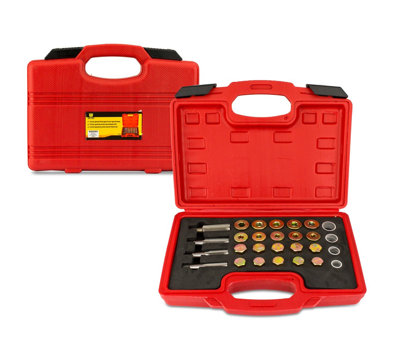 4501 Kit de 64 piè ces FUBUCA de ré paration de filetage du carter d'huile