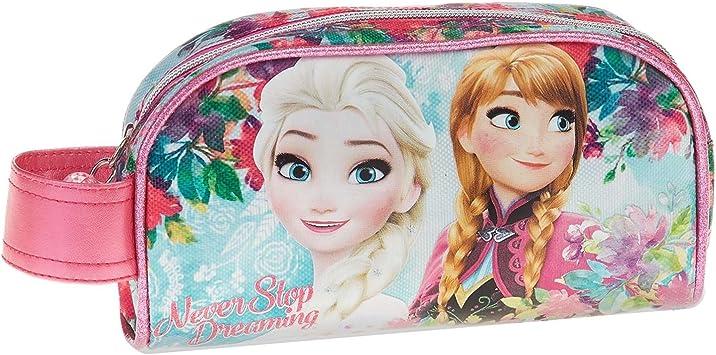 Disney Frozen Estuche portatodo, Color Turquesa, 21 cm (Karactermanía 32353): Amazon.es: Juguetes y juegos