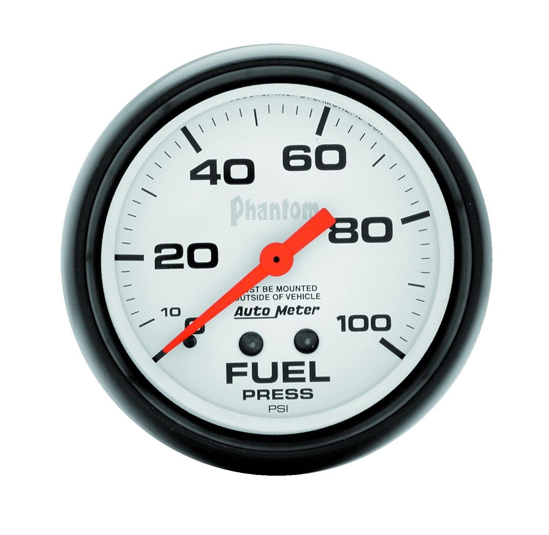 Auto Meter 5812 Phantom Mechanical Fuel Pressure Gauge