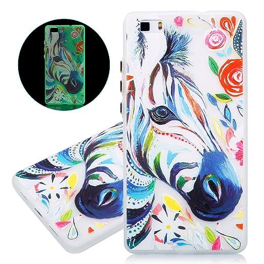10 opinioni per Custodia Huawei P8 Lite- Cover Huawei P8 Lite- ISAKEN Fashion Agganciabile