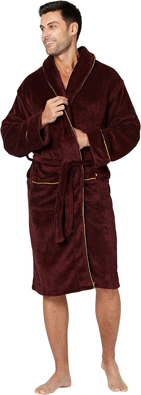 Mens Alexander Julian Colours Cozy Plush Robe