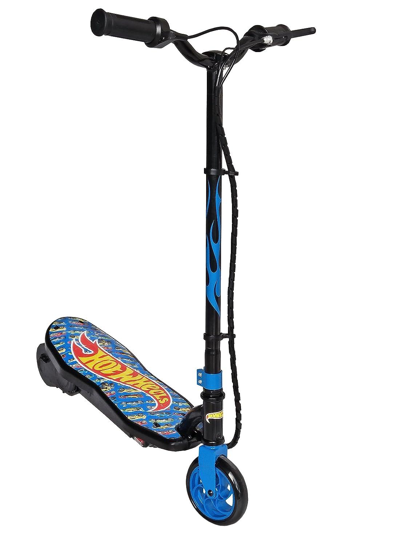 Hot Wheels, patinete eléctrico Unisex – Adulto, Azul, 50 kg