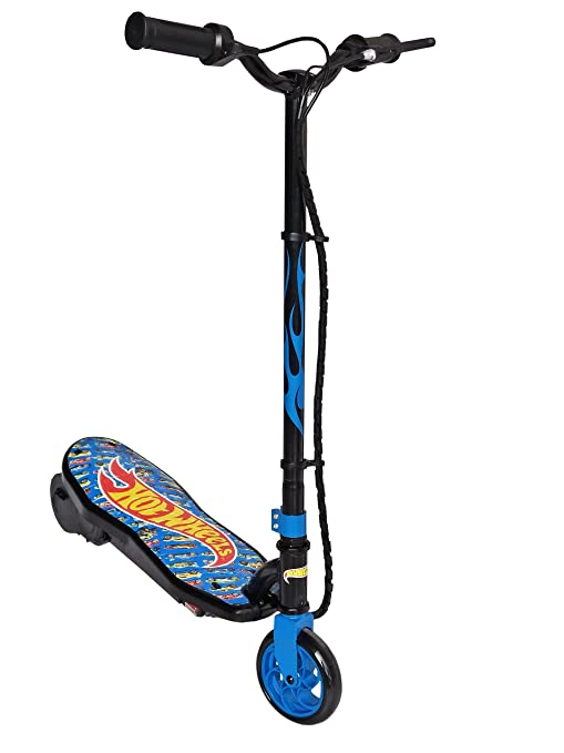 Hot Wheels, patinete eléctrico Unisex - Adulto, Azul, 50 kg ...