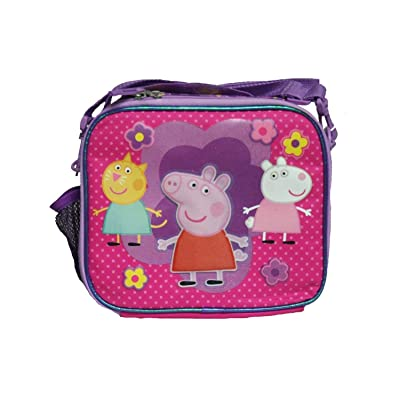 Peppa Pig with Friends and Flower Lunch Bag For Kids: Kitchen & Dining