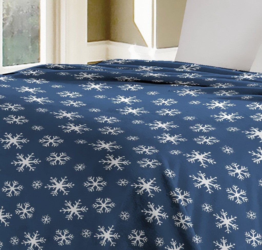 """Luxurious Oversized Printed Super Soft Plush Flannel Blanket Silky Throw in Full//Queen Size 79/""""x87, F06-Fur and Flower Silky Throw in Full//Queen Size 79/""""x87 HOMECHOICE AT-SPRINGROSE-BK-1PC-Q-F01"""