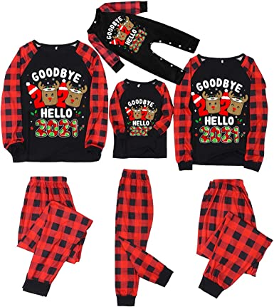Feliz Navidad Conjuntos de Pijamas Familiares a Juego Good ...