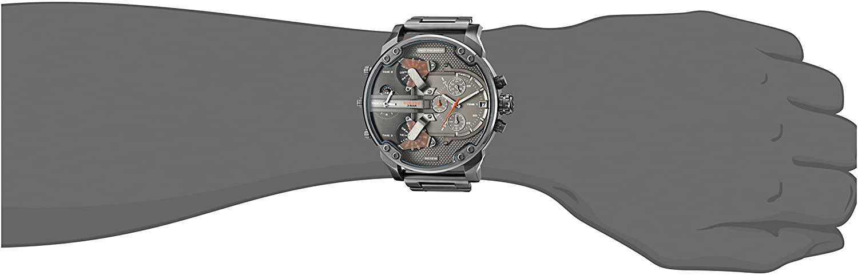 559bf4c0d97d Diesel Reloj Multiesfera para Hombre de Cuarzo con Correa en Acero  Inoxidable DZ7315  Fossil   Diesel  Amazon.es  Relojes