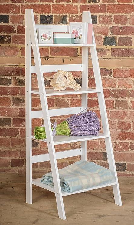 size 40 b92fc 7831d Sue Ryder Four Tier Ladder Shelf, White