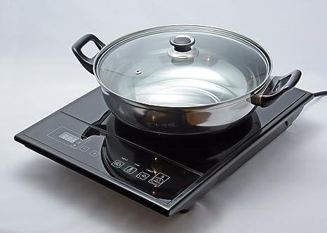 Amazon.com: Total Chef tcis11bng individual inducción con ...