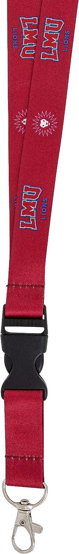 Loyola Marymount University LMU Lions NCAA Car Keys ID Badge Holder Lanyard Keychain Detachable Breakaway Snap Buckle