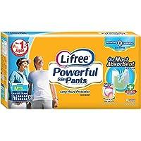 Lifree Powerful Slim Pants, M, 11 Count