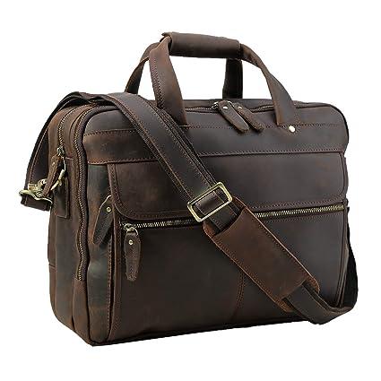 5ef7dbc0af2c Amazon.com  Polare Men s Thick Full Grain Leather 15.7