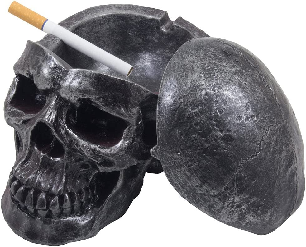 Human Skull Ashtray