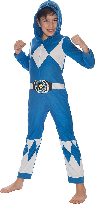 Power Rangers Pijamas de Manga Larga para ni/ños Ajuste Ce/ñido