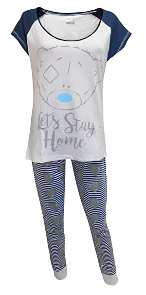 "Me to You Tatty Teddy ""Stay Home"" Mujeres Pijamas XL"