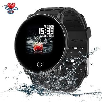 Amazon.com: SYNERKY Reloj Inteligente, Banda Inteligente ...
