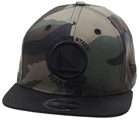 New Era Mujeres Gorras / Gorra Snapback NBA Camo Golden State Warriors 9Fifty