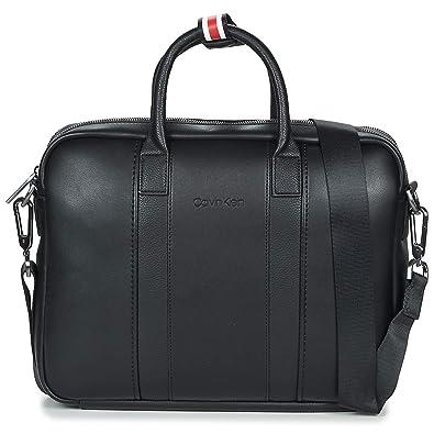 ae24808b5c Calvin Klein Essential 2 G Laptop Bag, Sacs pour ordinateur portable homme,  Noir (