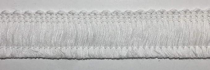 3//4 Natural Decorative Cotton Fringe Trim by 4-Yard 20mm TR-11139