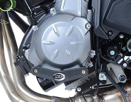 R & G Left Side Motor caso Slider para Kawasaki Ninja 650 ...