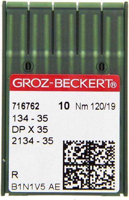 GROZ-BECKERT 134-35 - Agujas para coser (10 unidades, con punta ...