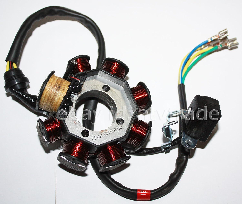 Alternateur stator Lima Shin Eray 250/stxe 200/stiie de B Quad ATV
