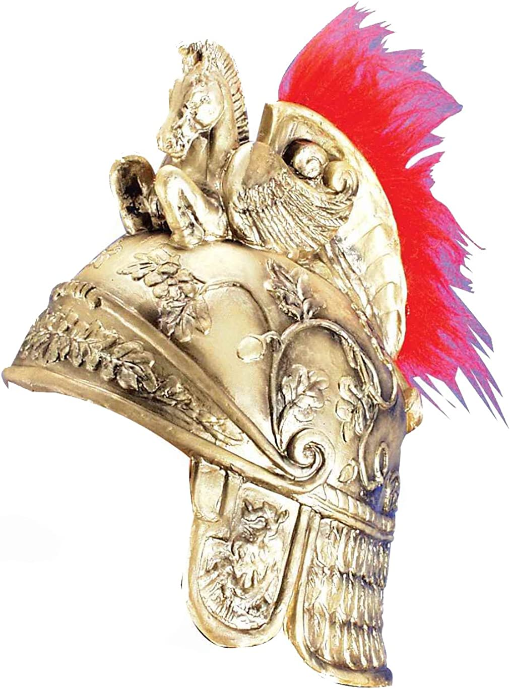 Forum Novelties Greek Roman Spartan Warrior Knight Gold Costume Helmet
