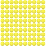 HeadShot Ammo 100 Rounds Nerf Rival Compatible Ammo - Bulk Yellow Foam Bullet Ball Replacement Refill Pack for Apollo, Zeus, Khaos, Atlas, Artemis & Nemesis Blasters (100 Rounds, Yellow)
