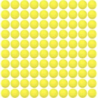 HeadShot Ammo Compatible with Nerf Rival Blasters, Bulk Yellow Foam Bullet Ball Replacement Refill Pack for Prometheus…