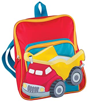 40f2e2dd1c83 Childrens Personalized Truck Backpack