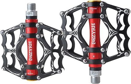 TRADE® 3 Bearing Road Mountain Bike Platform Pedals Flat Sealed Lubricate Beari