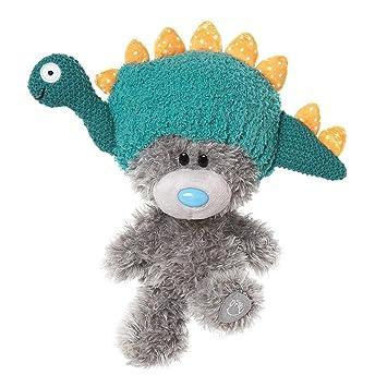 a778388f58a Glamour Girlz Super Cute Me To You Grey Plush Medium Tatty Teddy Bear  Wearing Dinosaur Hat  Amazon.co.uk  Toys   Games