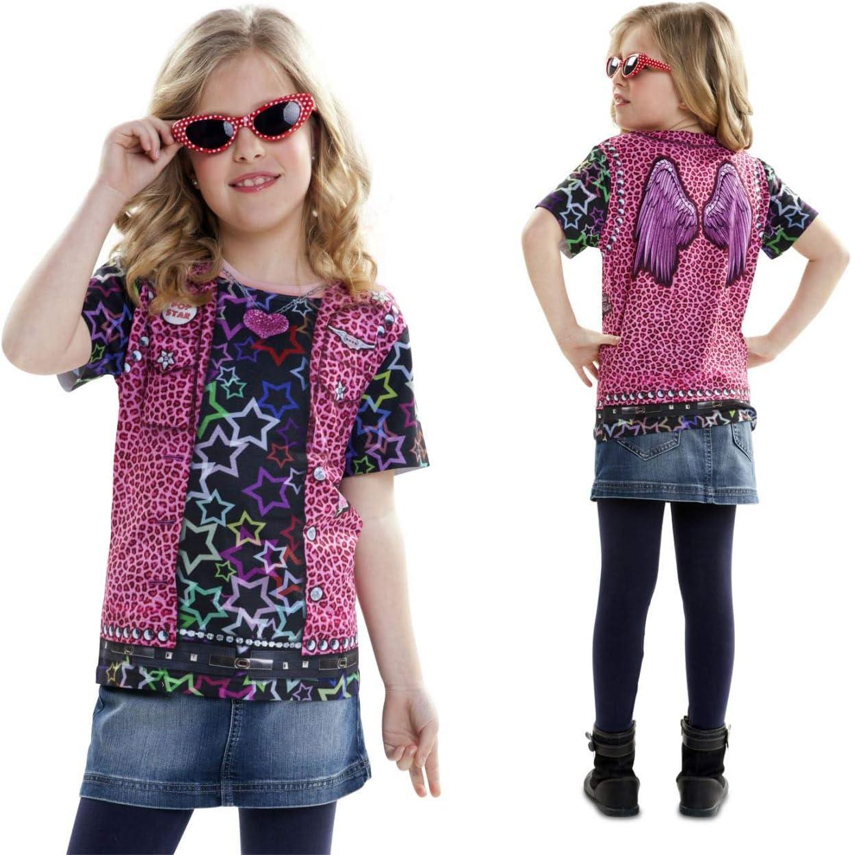 Disfraz Camiseta de Rapero Original de Carnaval para niña de 2-4 ...