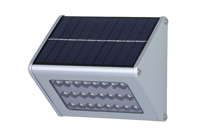 Giddah Luz de solar con Sensor de movimiento de 450lm 24LED para el patio, jardín