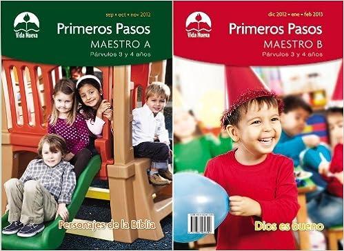 prvulos primeros pasos maestro septiembre febrero spanish edition