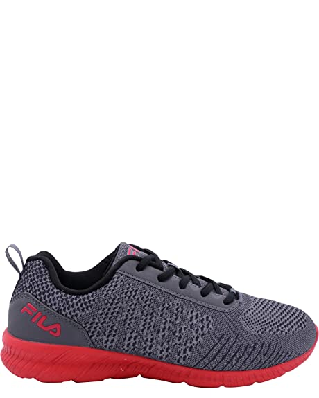 2f3b99b434c9a Fila Men's Memory V-Knit Castlerock/Black/Fila Red 9 D US: Amazon.ca ...