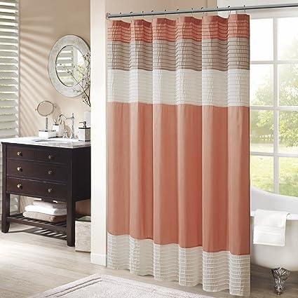 Amazoncom Madison Park Mp70 2319 Amherst Shower Curtain 72x72