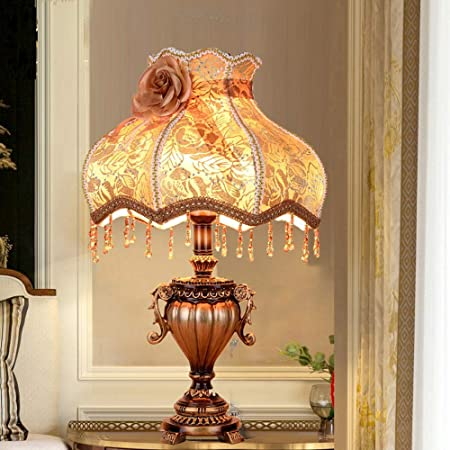 XXYHYQHJD Table Lamps European Retro Table Lamp Living Room