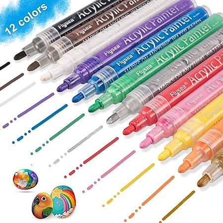 Rotuladores de Pintura Acrílica - Los rotuladores de pintura acrílica fueron diseñados para ser los