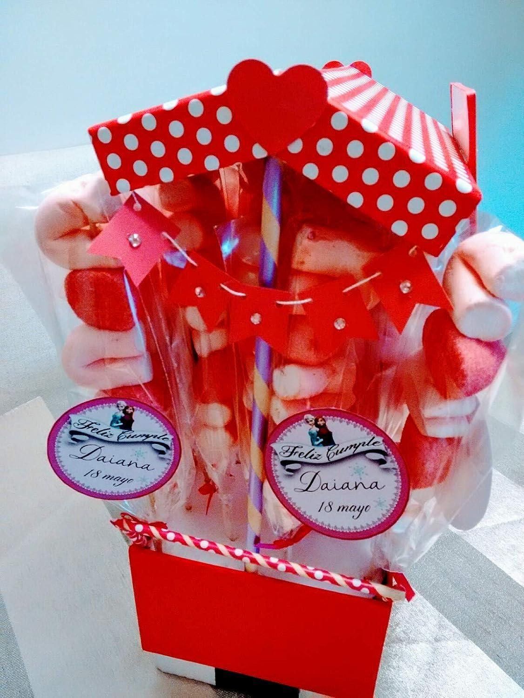 Carrito para chuches - Expositor para dulces Personalizado: Amazon ...
