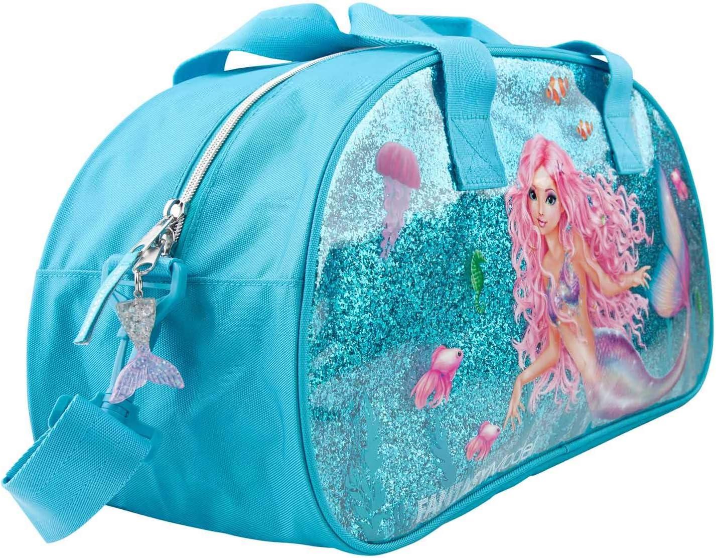 43 x 15 x 23 cm ca blau Depesche 11048 Sporttasche Fantasy Model Mermaid
