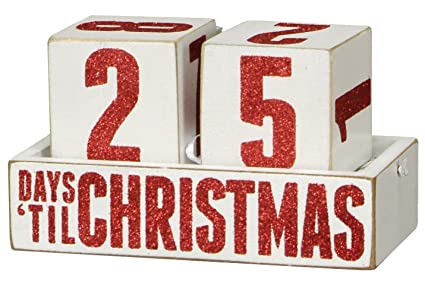 Christmas countdown photo or gift holders
