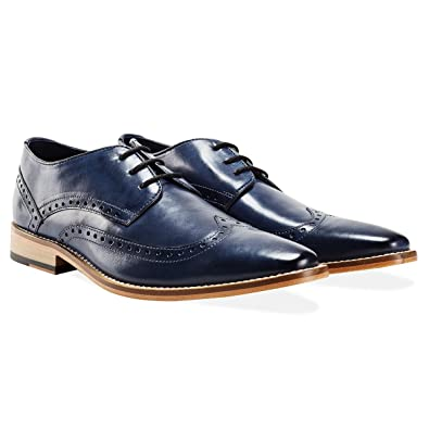 Goodwin Smith Black Burgundy Leather Monk Strap Shoes. UK 8.