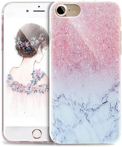 ikasus Cover iPhone 6S,Cover iPhone 6, Disegno colorato con Ragazza Farfalla Cover Silicone Case Molle TPU Trasparente Sottile Case Custodia Cover per ...